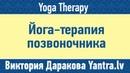 Йога терапия позвоночника Darakova