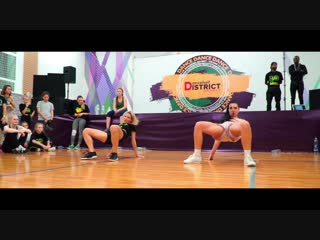 DANCEHALL DISTRICT 2018 | Female class by Daha Ice Cream | KAZAN