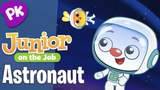 Astronauts & Outer Space! Junior on the Job: A Kids Series about Jobs & Professions
