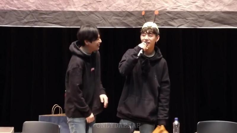 3.02.18 Himchan Daehyun @ Sindorim Fansign
