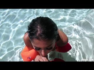 Sophia Leone - Teach Me How to Swim [All Sex, POV, Incest, Fetish, Foot, Teen, Anal, PornStar, Blowjob, домашнее порно, секс]