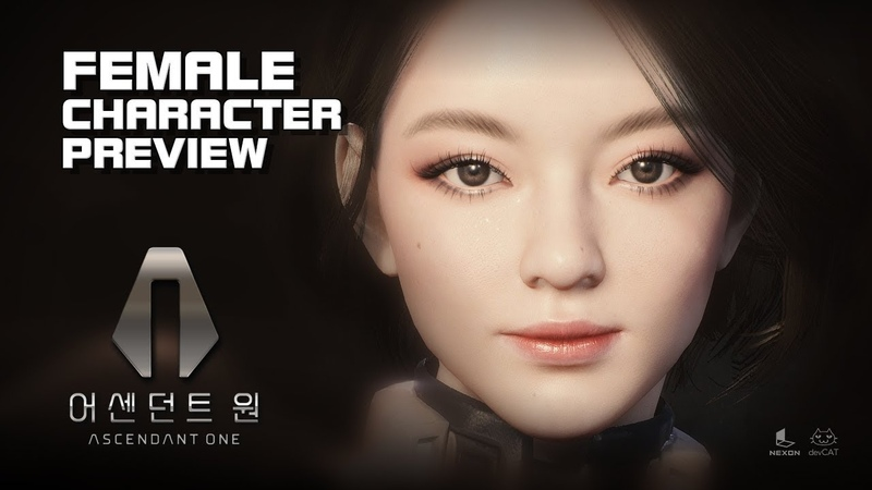 Ascendant One - Female Character Preview - Early Access - PC - F2P - KR
