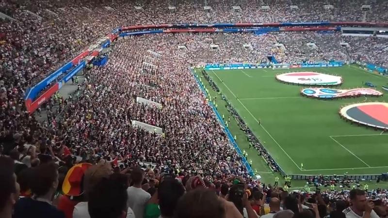 17.06.2018. Лужники. ЧМ-2018. Германия - Мексика