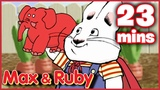 Max &amp Ruby Max's Bug Salad Ruby's Beach Party Super Max to the Rescue - Ep. 19