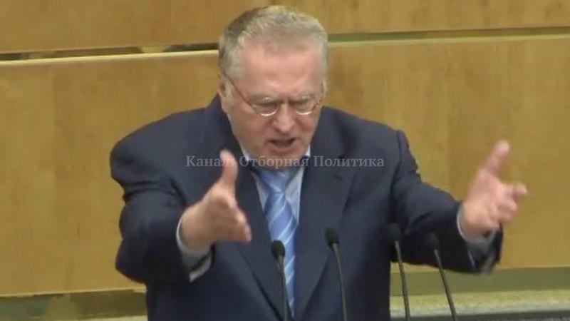 Жириновский Дума: Тогда не Было Прокремлёвской Партии Никакой!