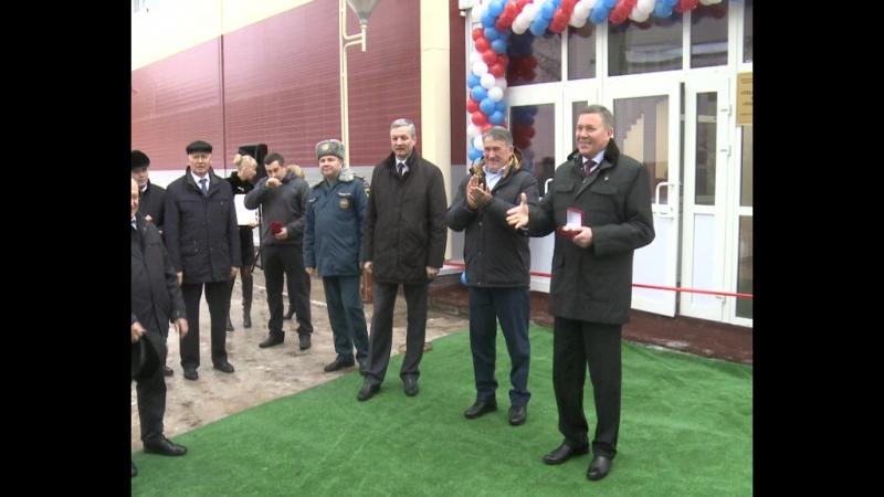 Открытие кадетской школы в центре Корабелы Прионежья в Вытегорском районе