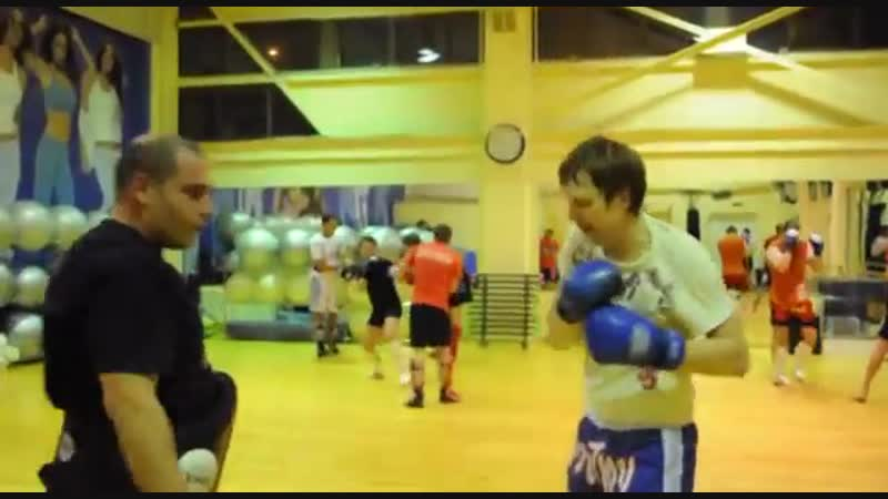 Вадим Силецкий и его французские коллеги из клуба Romainville на спортивном семинаре в Москве
