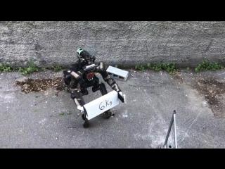 Европейские разработчики представили робота-кентавра