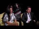 Selena Gomez &amp Ethan Hawke Interview - Getaway (JoBlo.com)
