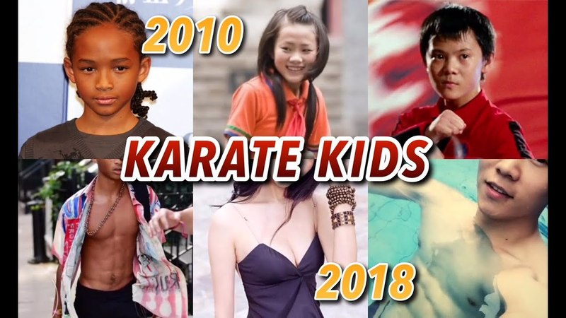 Then VS Now   The Karate Kid Cast