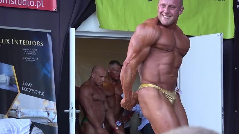 Polish onstage Bodybuilder Sopot 2017