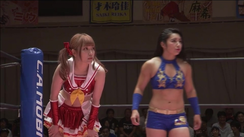 Maki Ito Reika Saiki vs Mizuki Yuka Sakazaki TJP Brand New Wrestling 2 ~ Now It's Time To Attack ~