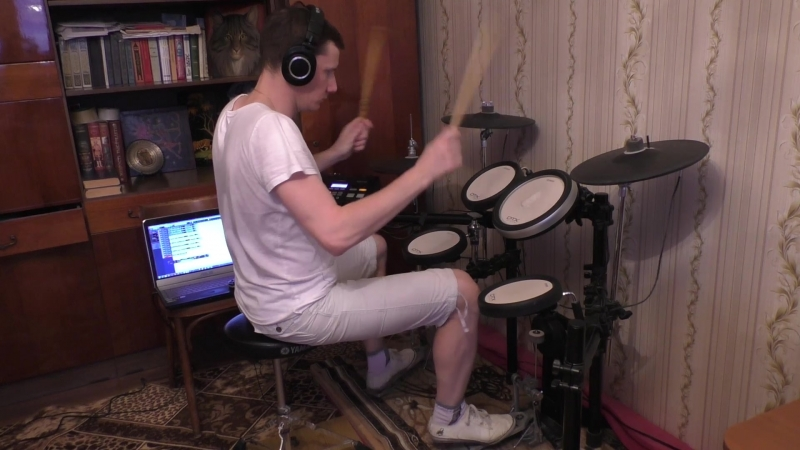 Steppenwolf Born to be Wild drum cover