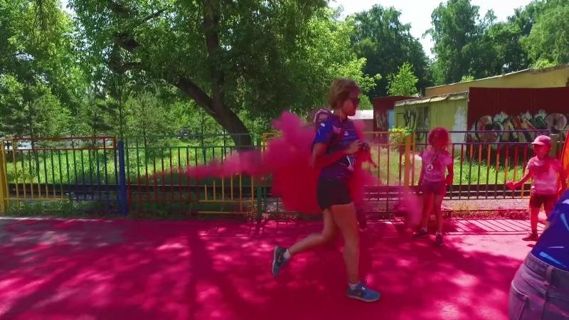 MaturRun - красочный благотворительный забег в Уфе 1 июля 2018 года