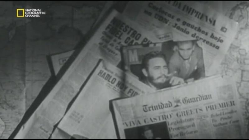 Фидель Кастро: потерянные плёнки / Fidel Castro: The Lost Tapes (Том Дженнингс / Tom Jennings) [2014, Документальный, история, л