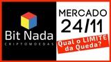 Mercado de Cripto! 24/11 Qual o LIMITE da Queda? / Bitcoin no Rio de Janeiro?