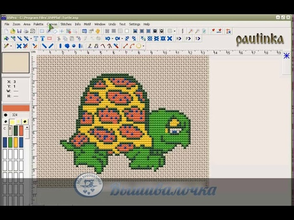 Урок 27. Интерфейс программы Cross Stitch Pro Platinum
