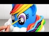How To Make a RAINBOW DASH PONY Cake My Little Pony Cake by Cakes StepbyStep