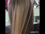 Окрашивание волос + стрижка ☝️экспресс лечение волос 😊