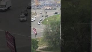 Утки на дороге в Сызрани