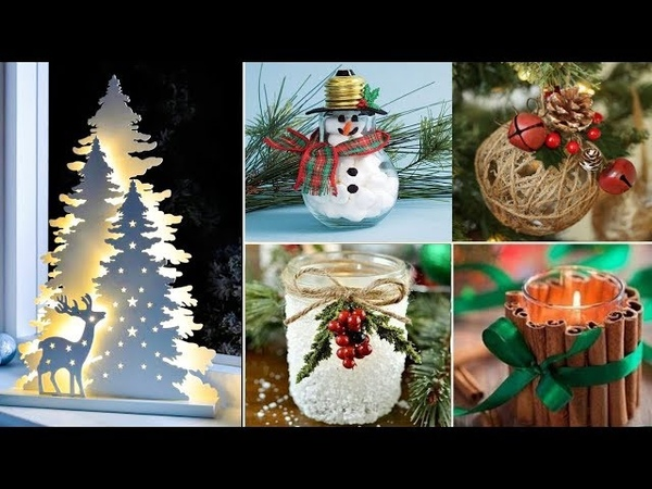 DIY Christmas Decor! 8 Easy Crafts Ideas at Christmas for Teenagers NEW YEAR DECOR 2019