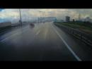 ДТП на КАДе. Сезд на Витебский в сторону Колпино.