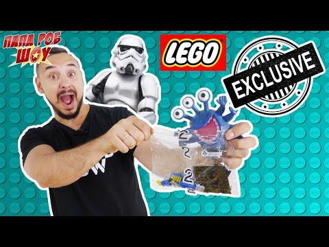 Папа РОБ и Звездные войны сборка корабля LEGO