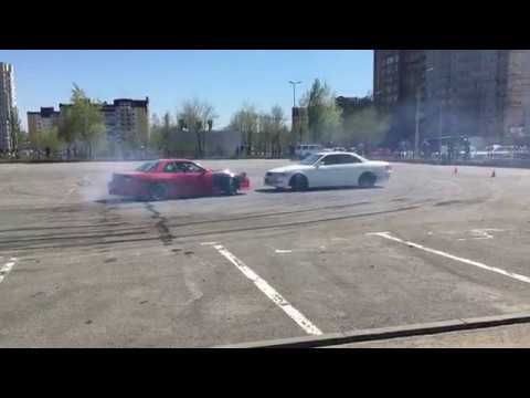 Drift Волгоград 01.05.18 Nissan Silvia s13 и Toyota Mark II jzx100