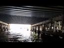 Амстердам - на лодке под железнодорожным мостом - Amszterdam - hajózás a vasúti híd alatt