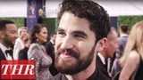 Darren Criss Talks 'The Assassination of Gianni Versace American Crime Story' Emmys 2018