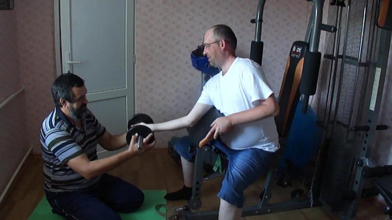 Тест 25.08.18.Часть-3.Проект Дистрофия мышц рук!