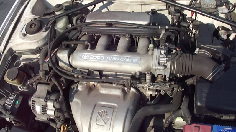 Видио тест мотора 3SGE ST202 AT