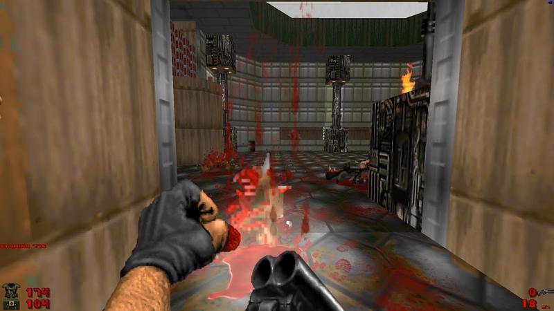 2002 A Doom Odyssey | E1M9: Lugano Base ZRX [Brutal Doom: Black Edition v3.1d] » Freewka.com - Смотреть онлайн в хорощем качестве