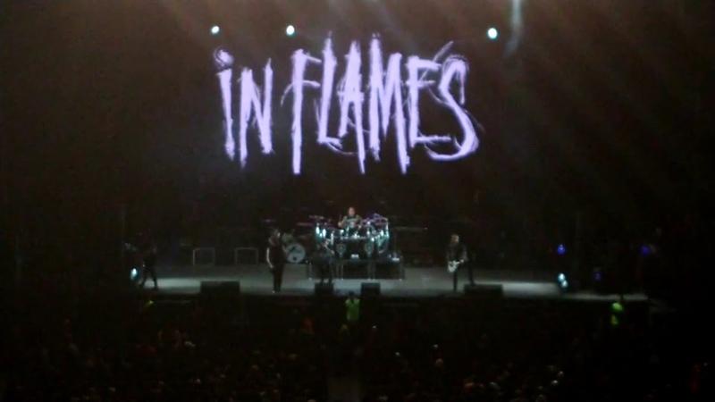 In Flames - Deliver us (Ciudad de México 2018)
