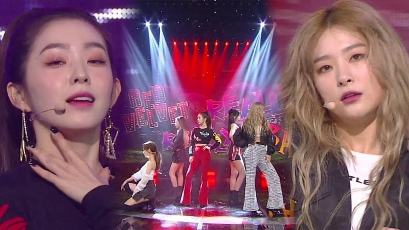 Red Velvet(레드벨벳) - RBB(Really Bad Boy) @인기가요 Inkigayo 20181216