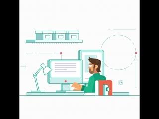 Kaspersky Lab: анимация иллюстрации