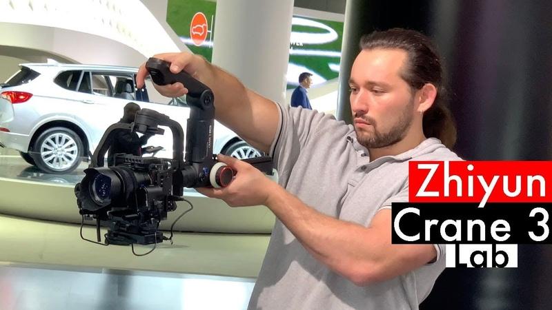 ZHIYUN CRANE 3 LAB - This Gimbal Has It ALL! | Momentum Productions