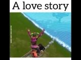 Самая крутая LOVE STORY FORTNITE