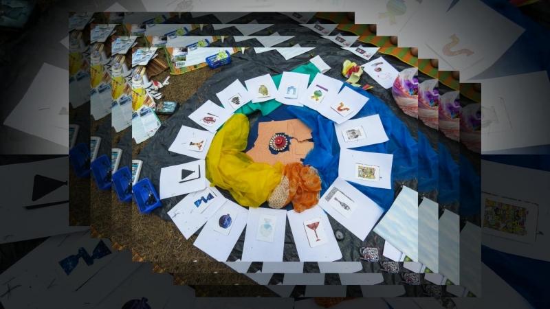 РАТ Огонь мерцающий в Сосуде Ресурсная коллажная практика. Ведущая и автор Ольга Бойкова .