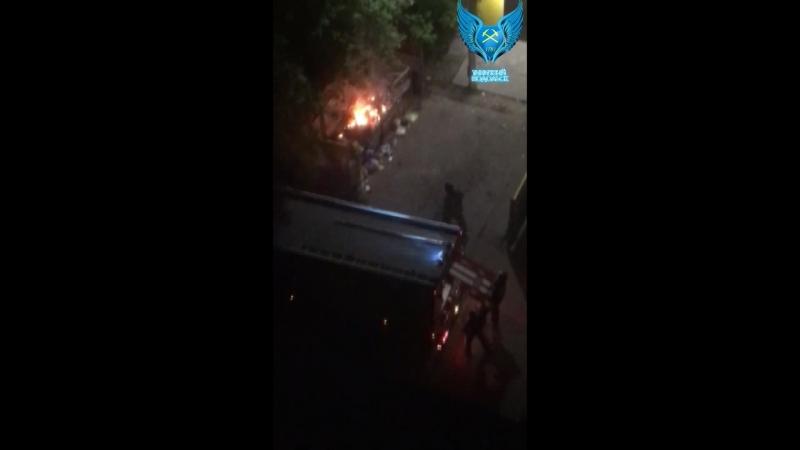 Поджог мусорки Б Зеленовская
