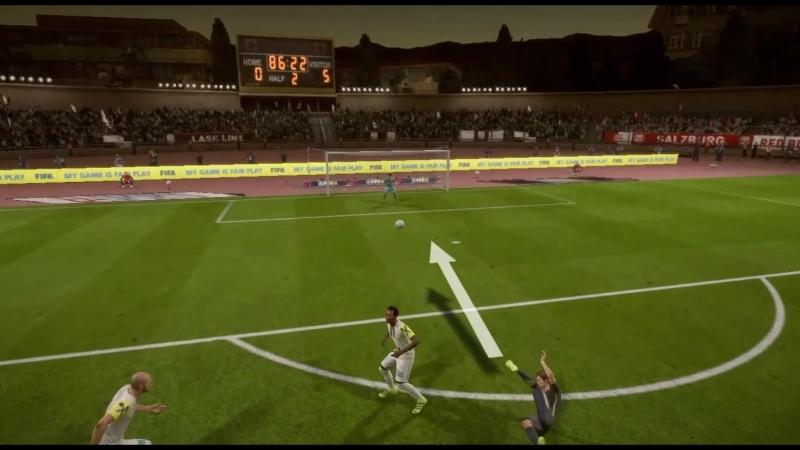 FIFA 18 Scissor kick goal