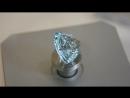 Ювелирные камни - голубой топаз фантазийной огранки. Topaz fancy cut