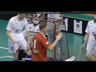 3 гол - 2 период - Горшененко Владимир хи - трик ФС2018 флорбол Floorball