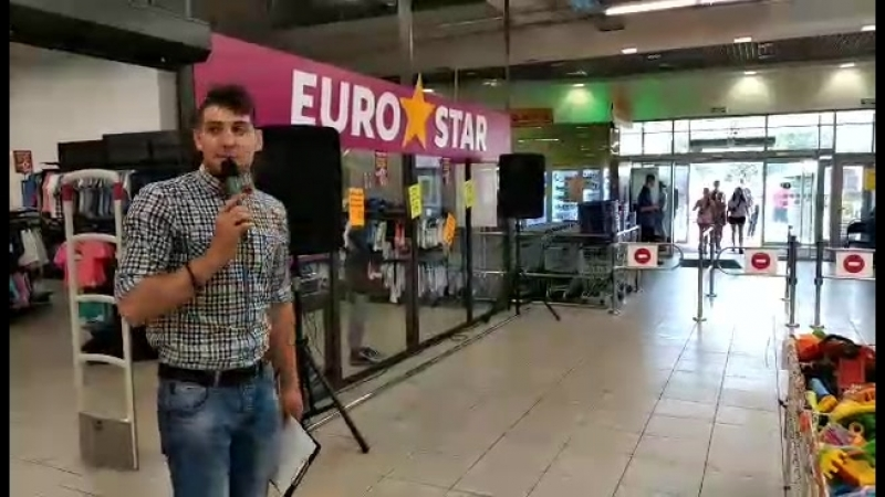 14.07.18 | Праздник | Магазин Euro Star | Чернигов