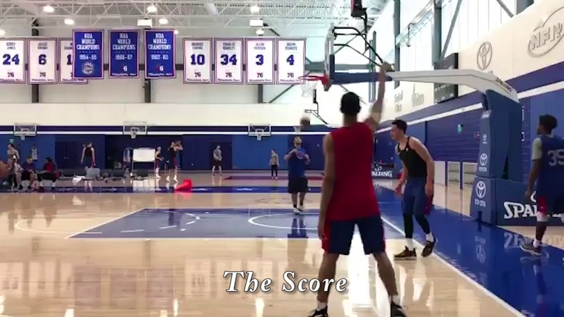 Sixers Lottery Pick Zhaire Smith Putting Up Jumpers After Practice For NBA Summer League