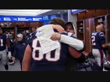Inside the Locker Room Patriots celebrate win over Chiefs
