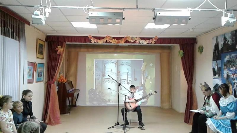 Титов Егор (анс.Аккорд) Л. Агутин Граница