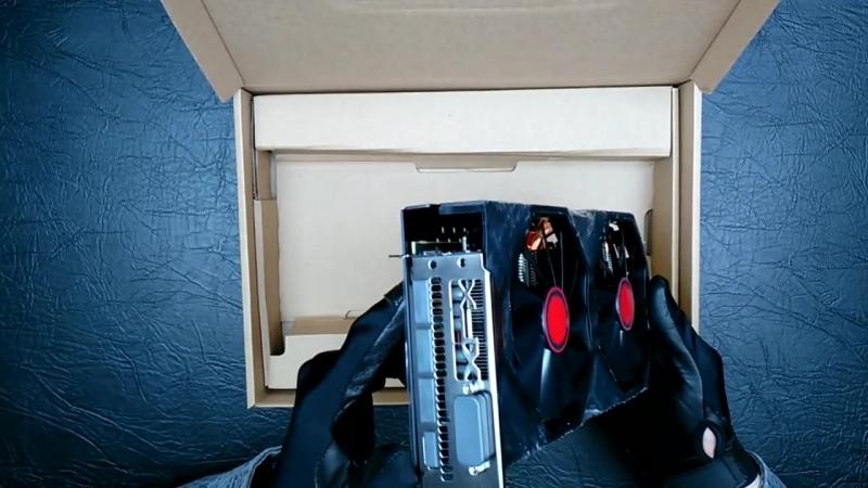 TEHNOGLOBE TV XFX RX 580 8 Gb РАСПАКОВКА ОБЗОР ТЕСТ