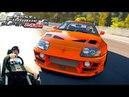1500 необузданных чертей под капотом Toyota Supra RZ Fast Furious Edition Forza Horizon 2