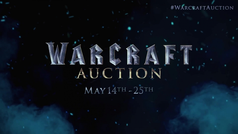 Warcraft Auction I Original Props and Costumes From the Film